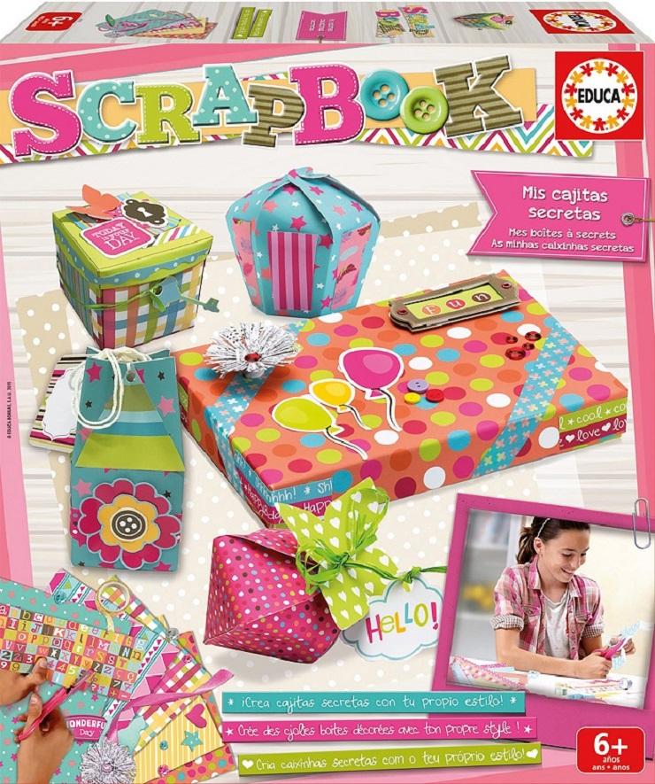 Álbumes de Scrapbook para niños de Educa Borras. Blog de juguetes. Jueguetes E Ideas 2