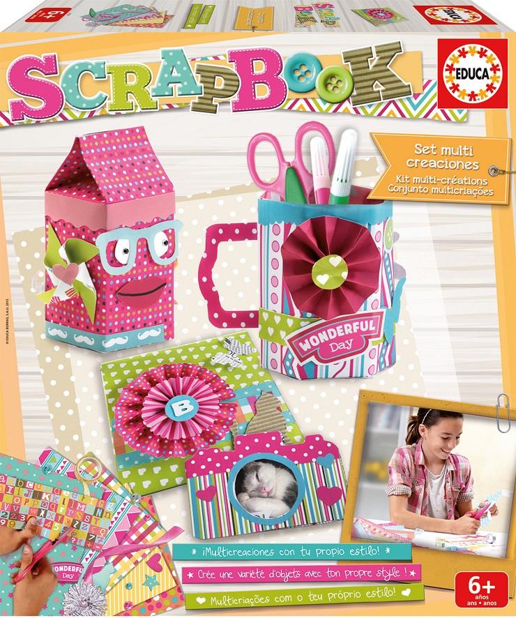 Álbumes de Scrapbook para niños de Educa Borras. Blog de juguetes. Jueguetes E Ideas 3