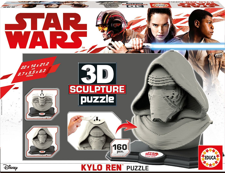3d-sculpture-puzzle-kylo-ren