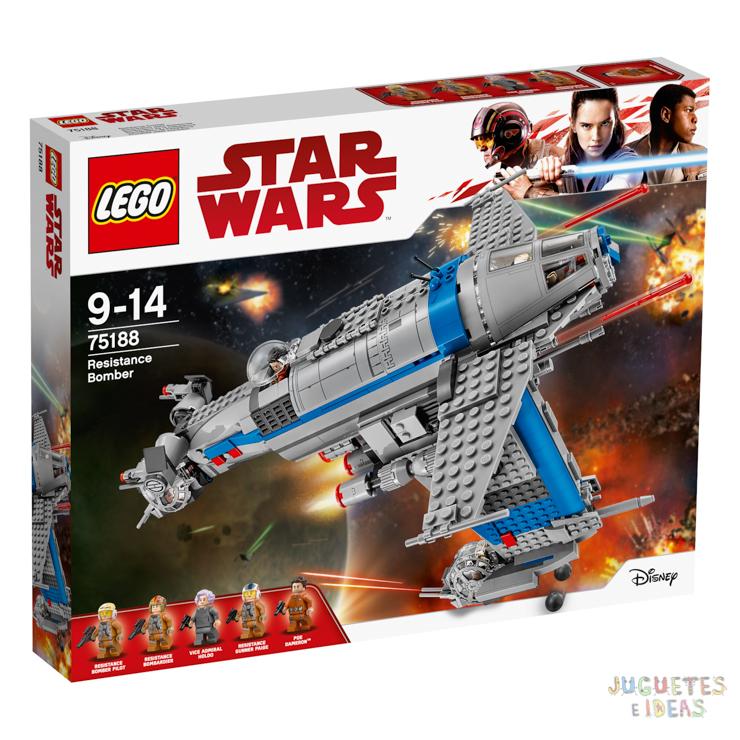 75188_LEGO Star Wars Bombardero de la Resistencia_Box
