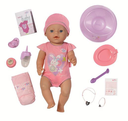 Baby Born interactivo y Juguetes e Ideas