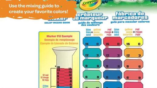 Crayola Marker Maker y Juguetes e Ideas