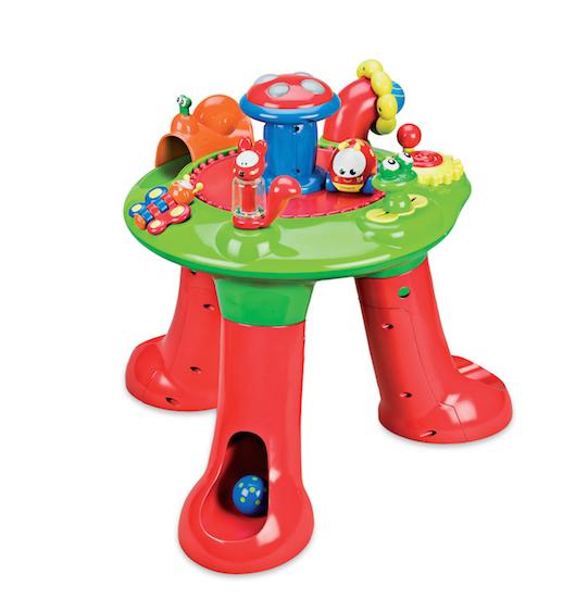 mesa de actividades imaginarium bebé de 6 a 12 meses