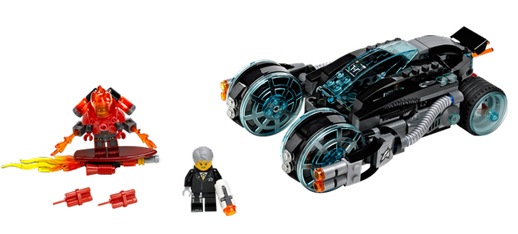 Lego Ultra Agents Intercepción infernal