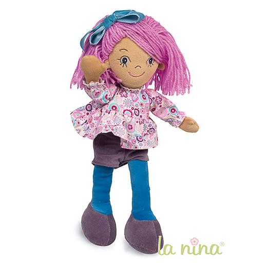 Muñecas de trapo y cocinitas de madera La Nina Diset_Juguetes e ideas-5