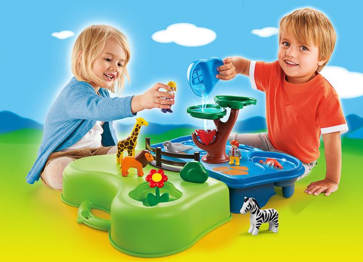 Para los m s peque os de la casa sorteo de playmobil 1 2 3 for Casa playmobil 123