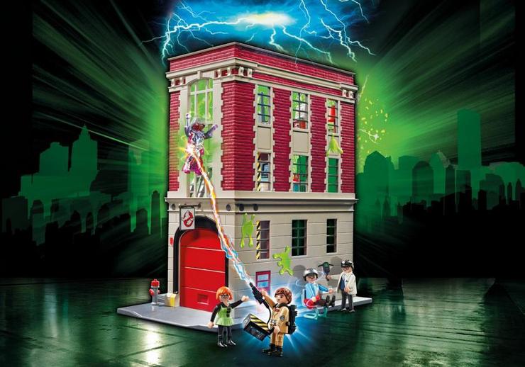 Playmobil-cazafantasmas-cuartel-parque-de-bomberos-ghostbusters-sorteo-Jugueteseideas
