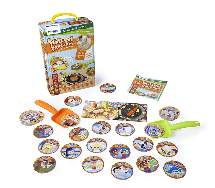 Scared Pancake-miniland-jugueteseideas