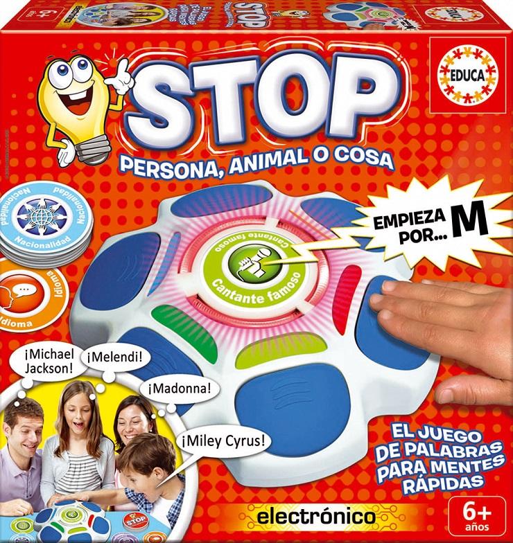 Stop, el juego para mentes rápidas de Educa Borrás. Juegos para niños. Blog de Juguetes. Juguetes e ideas