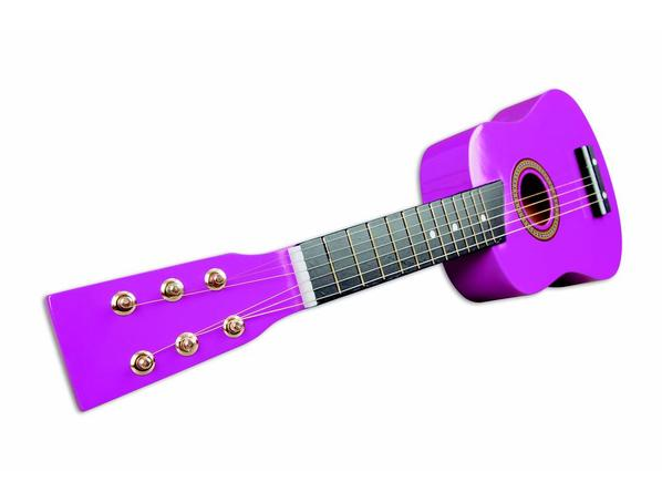 guitarra-española-violeta-la-banda