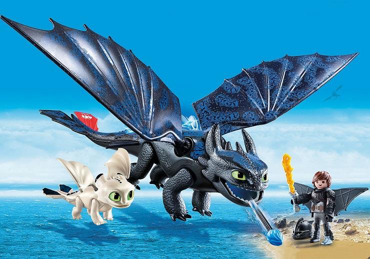 hipo-desdentao-con-bebe-dragon