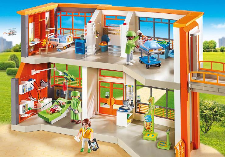 hospital-infantil-de-playmobil-jugueteseideas