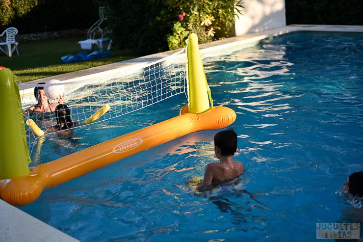 Juego de voley para la piscina de intex - Parches para piscinas desmontables ...