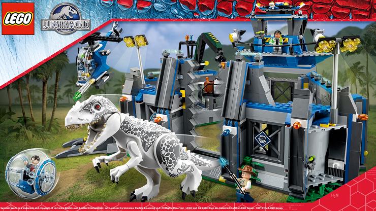 la-fuga-del-indominus-rex-jurassic-world-lego