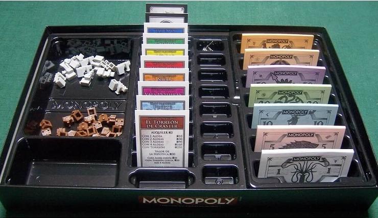 Gana El Trono De Hierro Con Monopoly Juego De Tronos