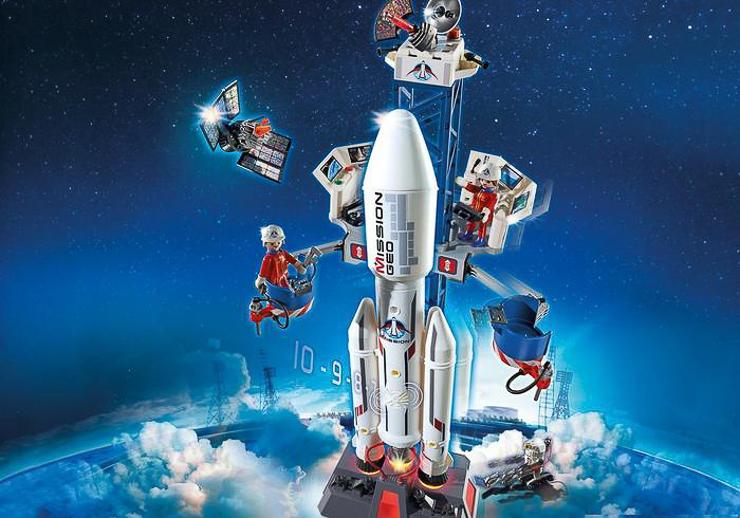 playmobil-mision-en-el-espacio-cohete-con-plataforma-de-lanzamiento