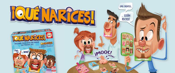 ¡Qué narices! el nuevo juego para toda la familia de EDUCA BORRAS
