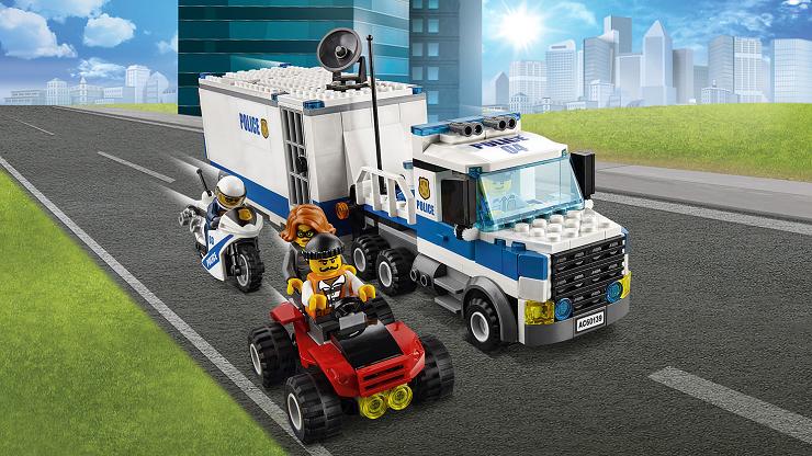 Lego city equipos de rescate policiales - Camion de police lego city ...