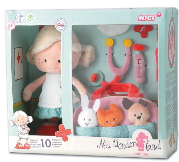 Muñecas de peluche NICI Wonderland_sorteo Juguetes e ideas-29