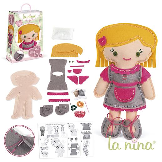 Muñecas de trapo y cocinitas de madera La Nina Diset_Juguetes e ideas-12