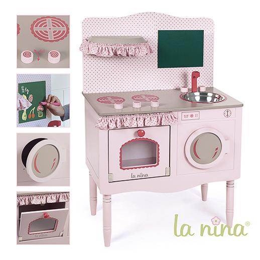 Muñecas de trapo y cocinitas de madera La Nina Diset_Juguetes e ideas-8