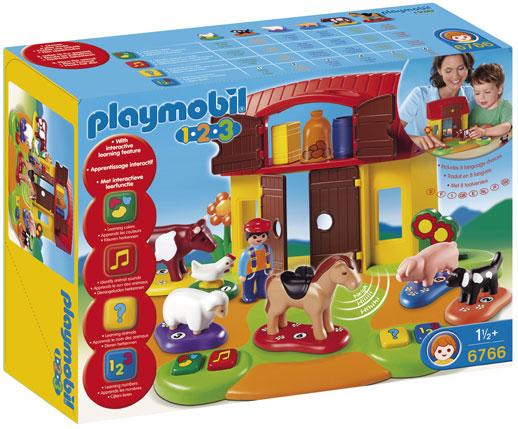 Playmobil-Granja-de-animale