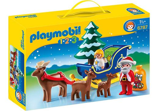 Playmobil Papa Noel trineo_sorteo-Juguete e ideas