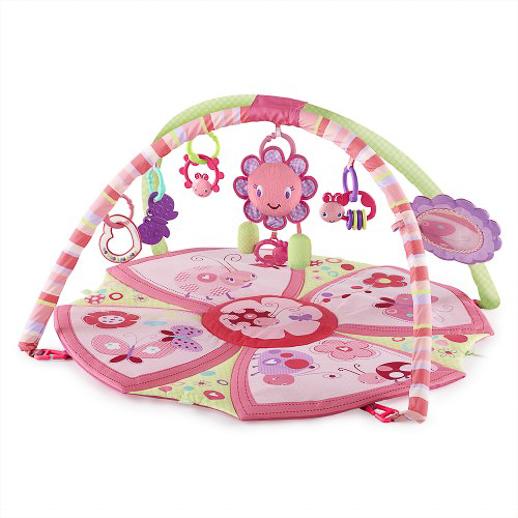 Pretty in pink Bright Starts gimnasio-supreme-rosa