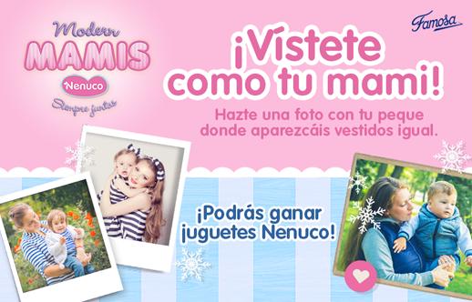 concurso Modern Mamis de Nenuco en Juguetes e Ideas
