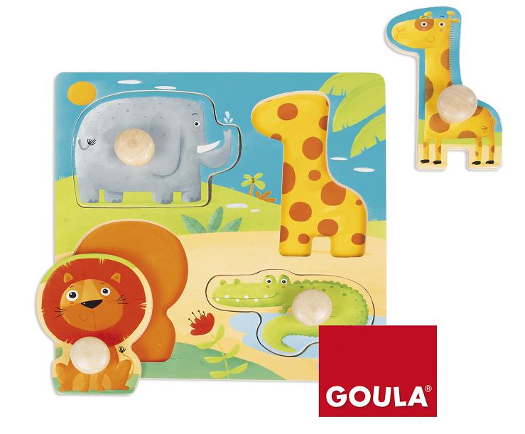puzle-animales-selva-goula