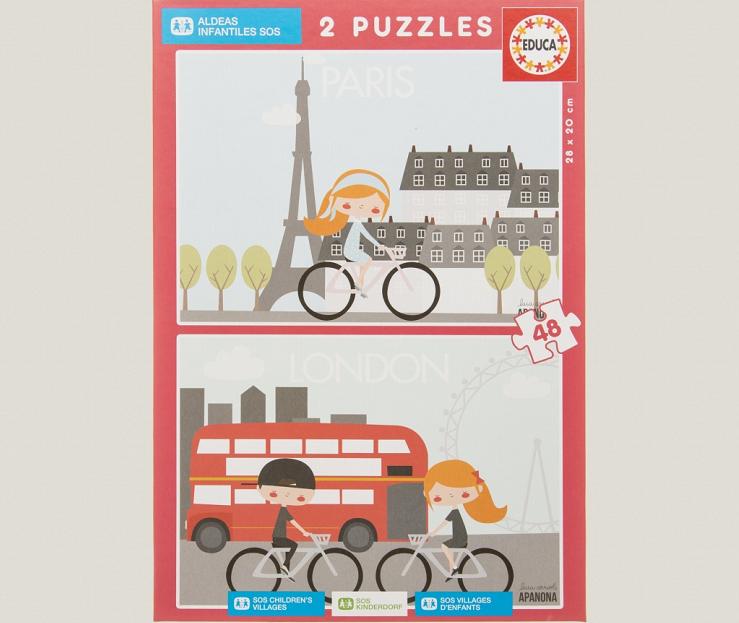 puzzle-París-London-educa-aldeas-infantiles