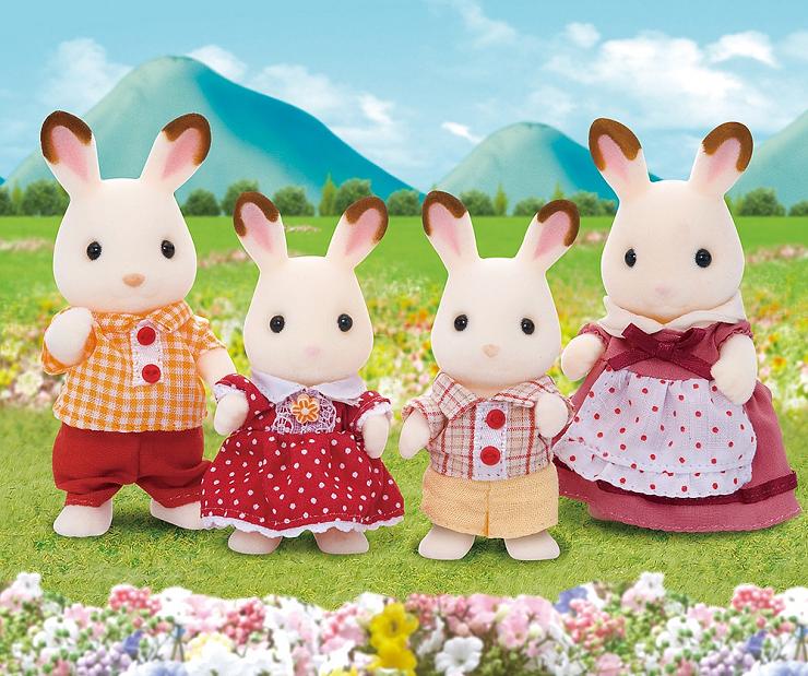 sylvanian-families-familia-conejos-de-chocolate